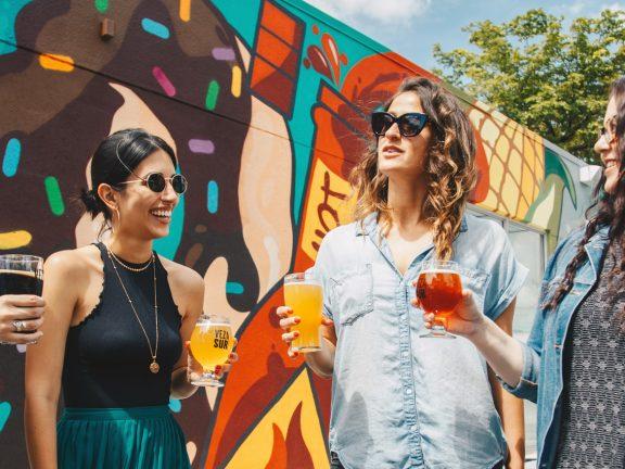 Peach Summer Drink Recipe and Salsa Cheese