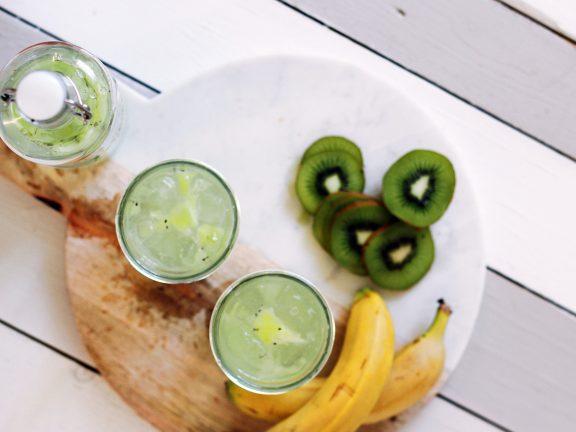 Smoothie Recipe with Yogurt, Fruit & Coconut Water