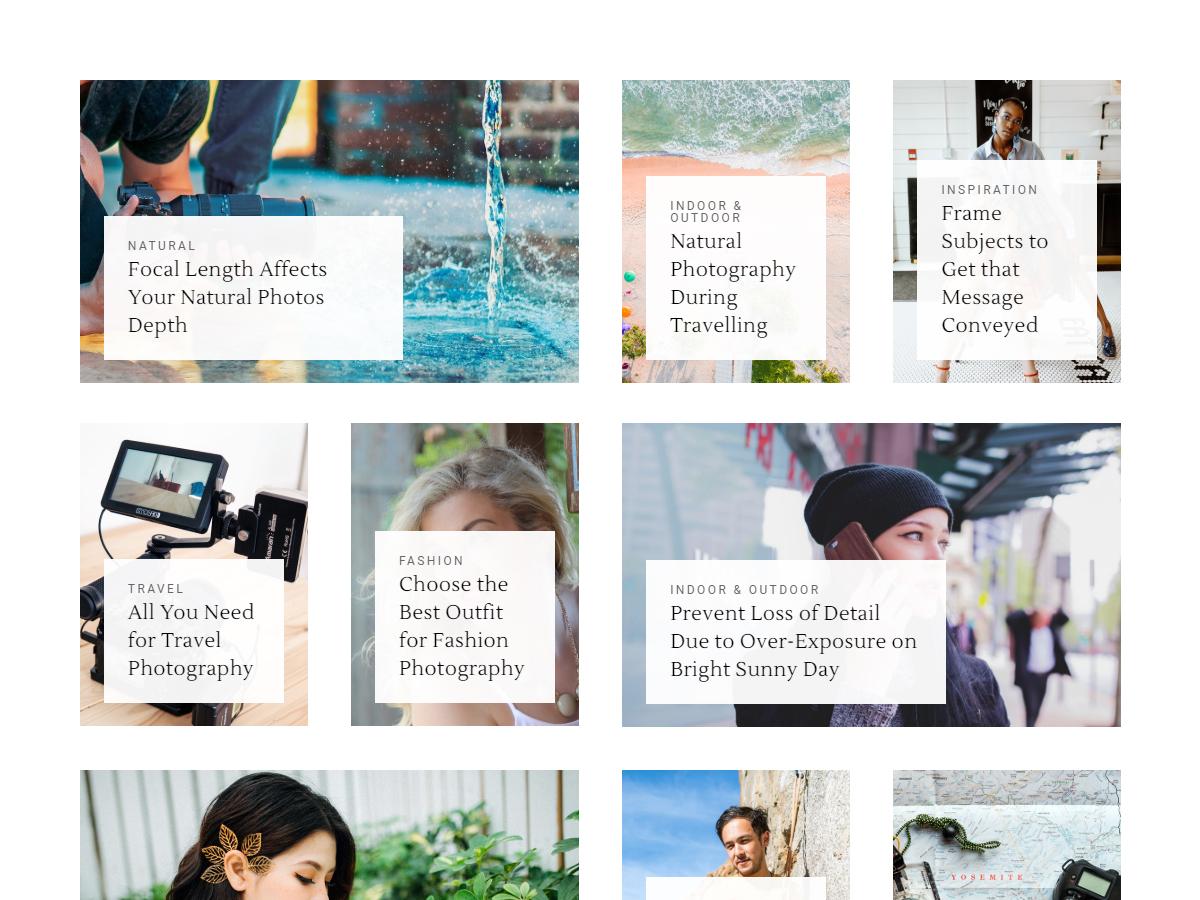 Blogasm Pro - Minimal Blog WordPress Theme
