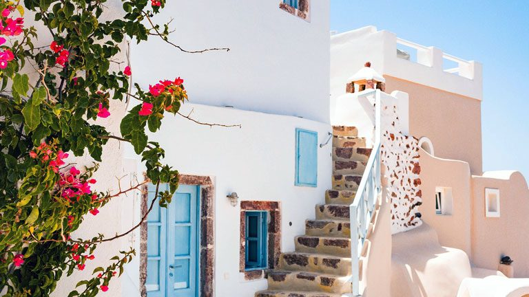 Santorini- Romantic Getaways for Couples