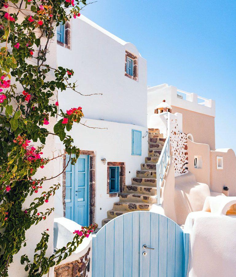 Santorini- Romantic Getaways for Couples