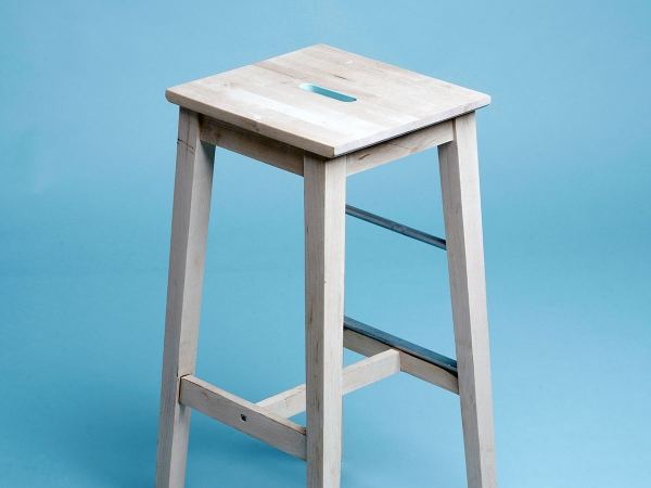 Lounge Wooden Stool