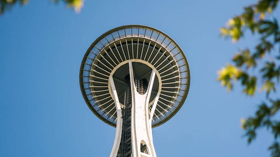 Experiencing Seattle: View from the Space Needle