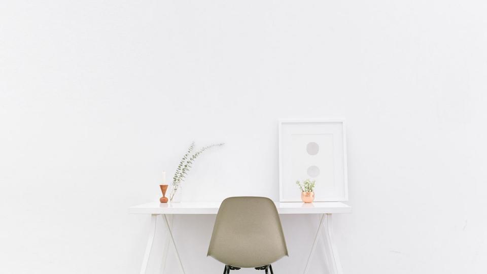 Minimal Study Desk