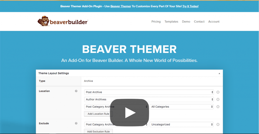 Beaver Themer - Edit WordPress