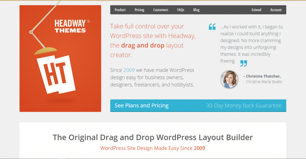 Headway Themes - Edit WordPress Themes without Coding