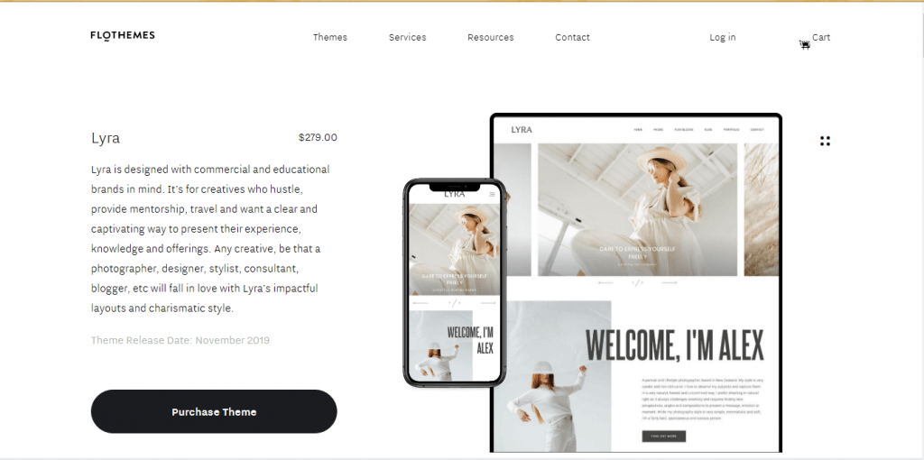 Lyra - WordPress Themes for Videographers