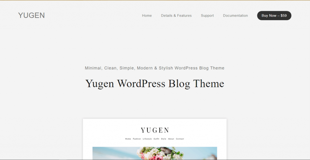 Yugen Pro - WordPress Themes for Videographers